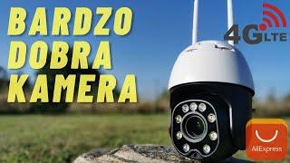 TEST - Kamera obrotowa 5MP 4G LTE zoom optyczny x5 INTELLIGENT TRACKING p2p wifi IP do 300 - 400 zł