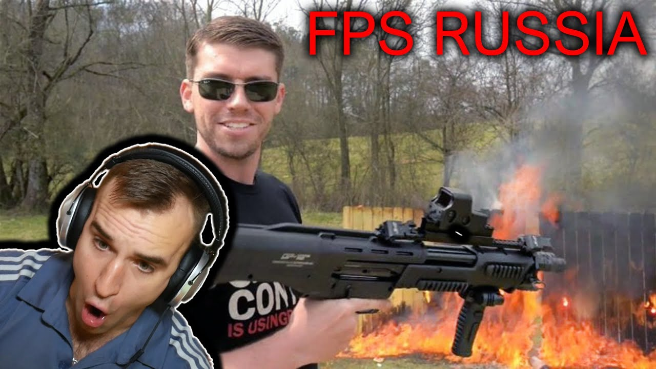 Estonian Soldier react to FPS RUSSIA