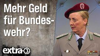 Mehr Geld für die Bundeswehr?