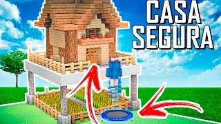 ✔ Minecraft Tutorial : CASA MEGA SEGURA (trampolim elástico)