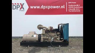 DPX Power: Loadtest Cummins KT-1150-G - 310 kVA Generator - DPX-11935