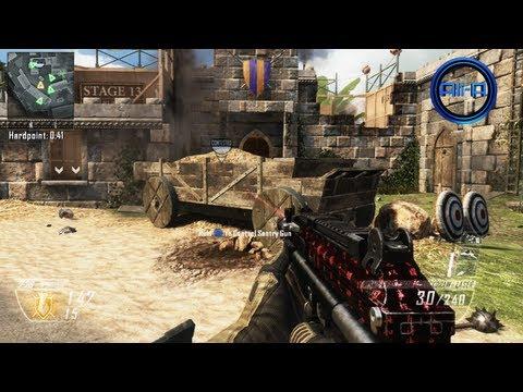 """STUDIO"" Gameplay - Black Ops 2 Multiplayer Map DLC (Firing Range) - New UPRISING Map Pack COD BO2"