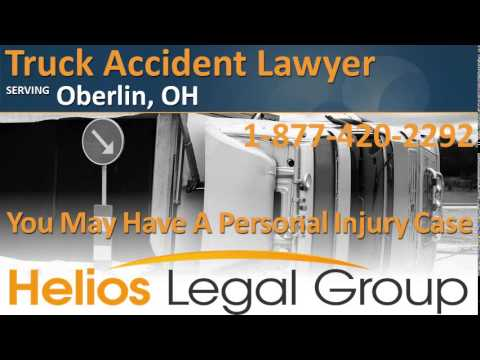 Oberlin Truck Accident Lawyer & Attorney - Ohio