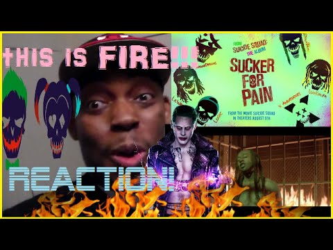 Sucker for Pain - Official Video REACTION!!! AWESOME!!!