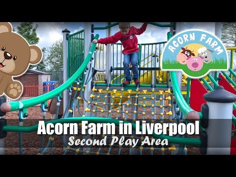 Acorn Farm In Liverpool | Second Play Area | Slides, Climbing Frames & Spinning Saucers