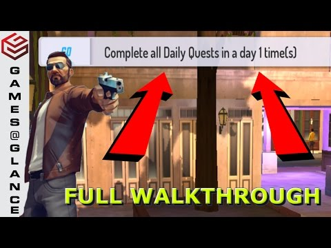 Gangstar New Orleans How to Complete All Daily Quests ?? Full Walkthrough !!
