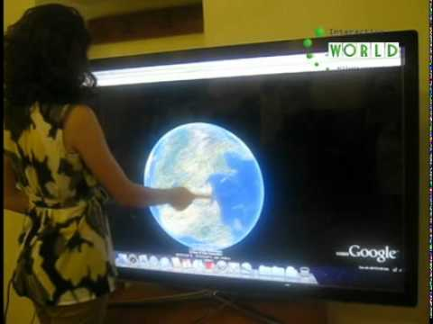 The FIRST multitouch system in Armenia installed in Prime Minister working room