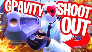 GRAVITY SHOOTOUT MINIGAME!! MINIGAMES in FORTNITE PLAYGROUND!