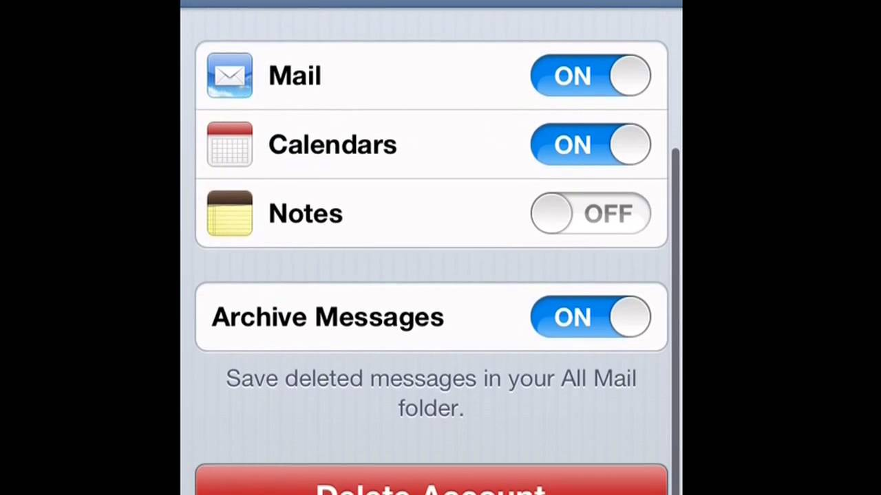 How To Sign Out Of Your Email On Iphone, Ipod, Ipad