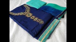Chanderi Silk Salwar Kameez Material || Trendy Chanderi Silk dress material