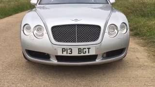 2004 BENTLEY CONTINENTAL GT 6.0 TWIN TURBO W12 AWD 200mph SUPERCAR VIDEO REVIEW
