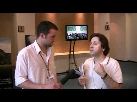 Oleg Shamanov - Russian Federation Negotiator at COP16 in Cancun, Mexico
