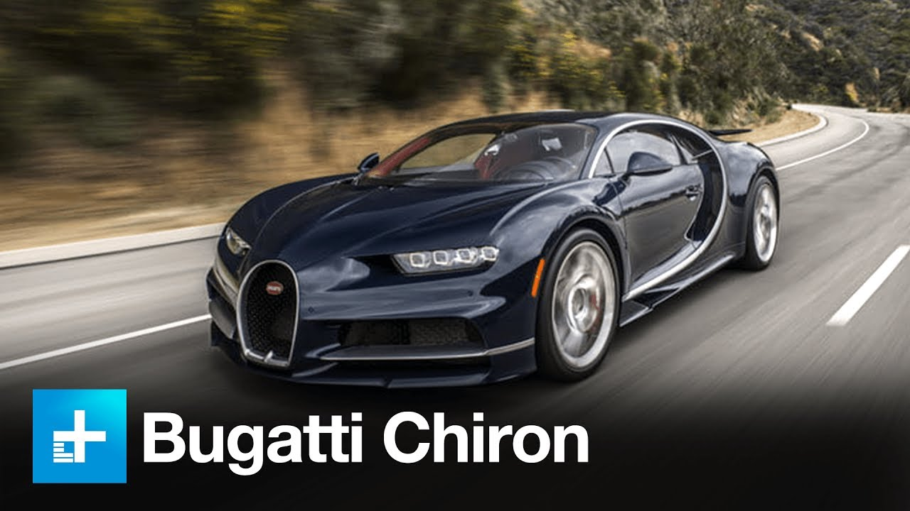 2017 Bugatti Chiron First Drive Youtube