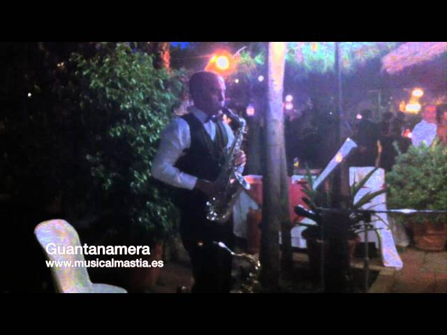 Saxo para bodas RINCON HUERTANO Musica bodas Murcia Musical Mastia Wedding