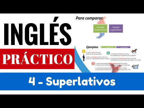 "Superlativos y su diferencia con comparativos. Reglas / Ejemplos ""Yes en Inglés 3"" [Video 5]"