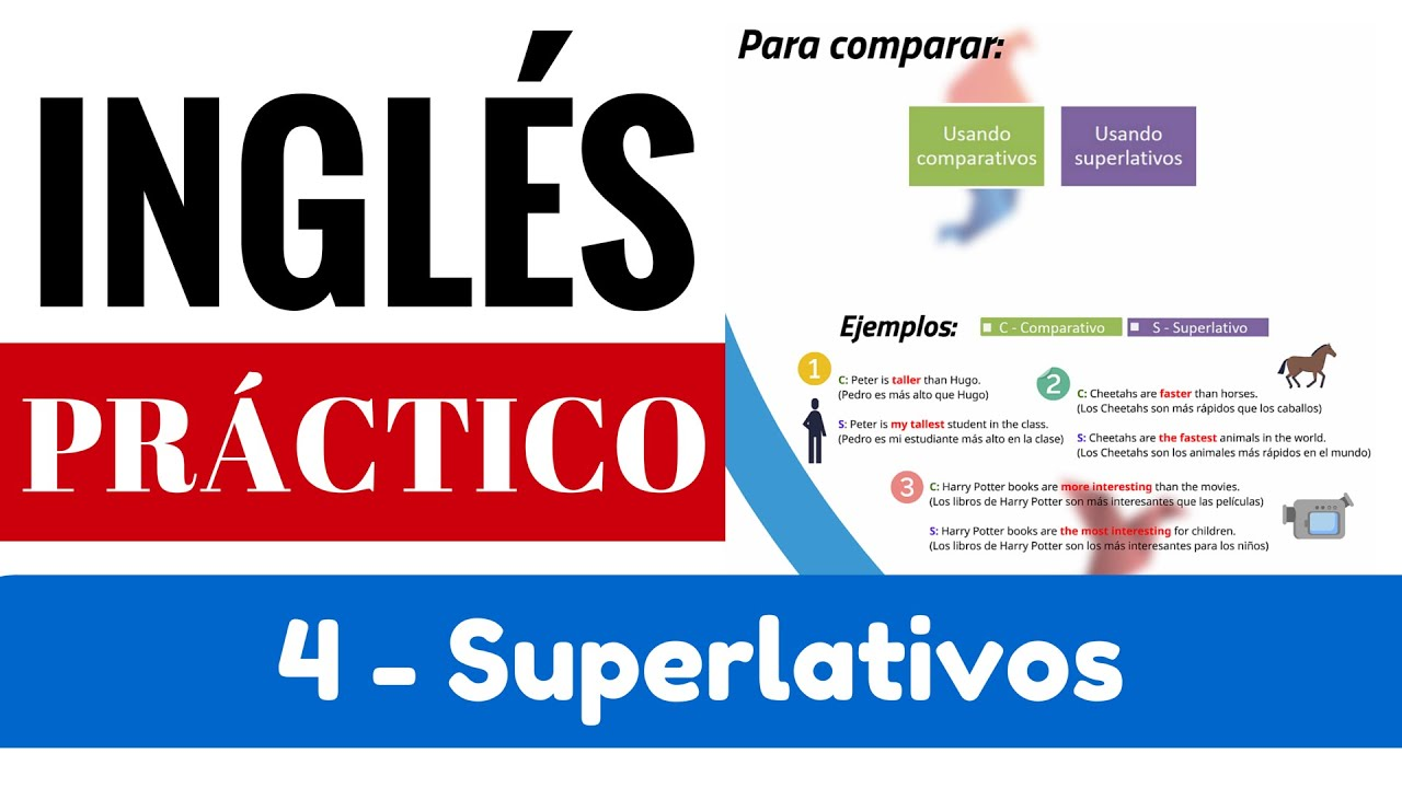 Superlativos Y Su Diferencia Con Comparativos Reglas Ejemplos Yes En Inglés 3 Video 5