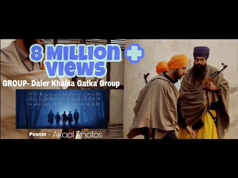 Daler Khalsa gatka Group Nawanshahr Nanak singhwith Zaalam By Gippy Grewal