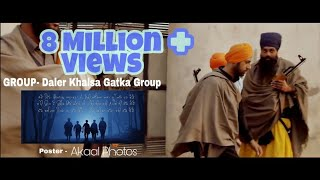 Daler Khalsa gatka Group Nawanshahr Nanak singh  with Zaalam By Gippy Grewal