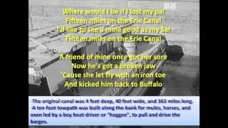 Erie Canal - Bruce Springsteen (Lyrics)