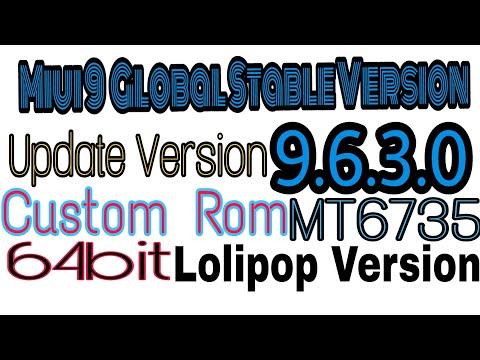 Mt6735 Custom Rom