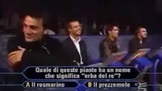 Ecco cosa pensava Gattuso di Montella(2003 chi vuol essere milionario)😂