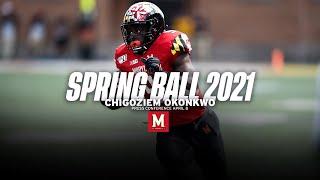Maryland Football   Chigoziem Okonkwo Press Conference April 8, 2021