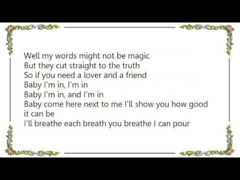 Keith Urban - I'm In Lyrics
