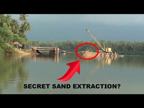Sand Extraction In The Name Of Dredging?