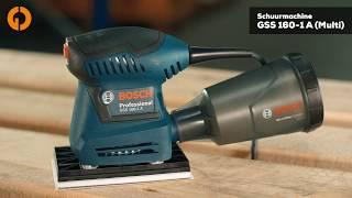 Bosch GSS 160-1 A 3-in-1 Multischuurmachine - Fixami.be