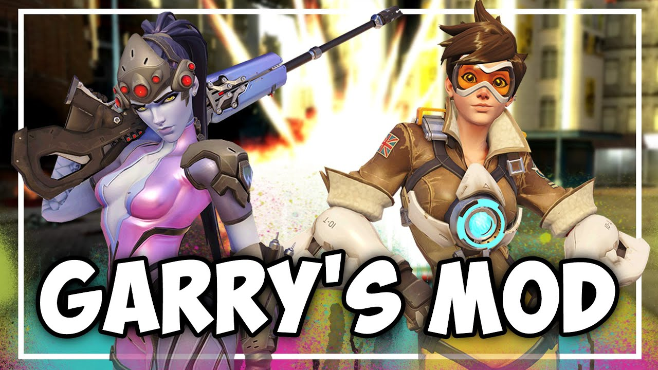 GMOD: Overwatch Player Models & Usable Weapons!
