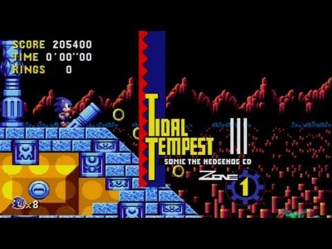 Sonic CD (Xbox 360) - Part 2 (Tidal Tempest)