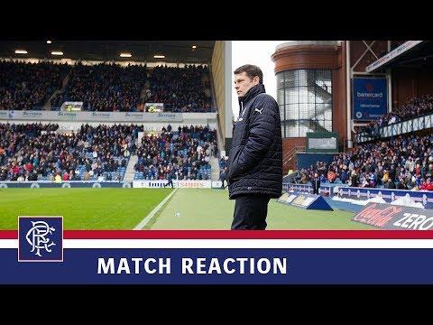 REACTION | Graeme Murty | Rangers 2-3 Celtic