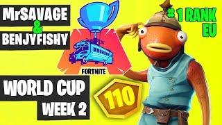 Benjyfishy and MrSavage Fortnite World Cup Week 2 Highlights [Fortnite Tournament 2019]