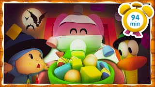 🥃 POCOYO in ENGLISH - Halloween: Magic Potion [94 min] |Full Episodes |VIDEOS and CARTOONS for KIDS