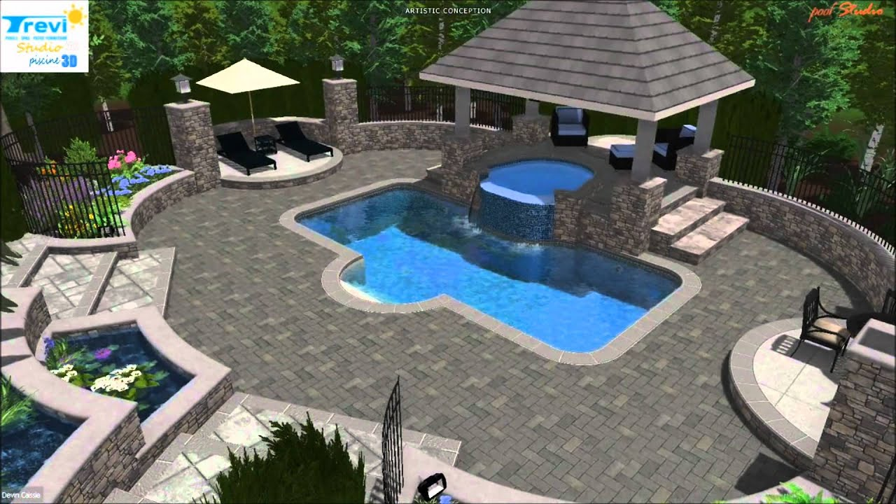 Trevi piscine noble youtube for Piscine trevi