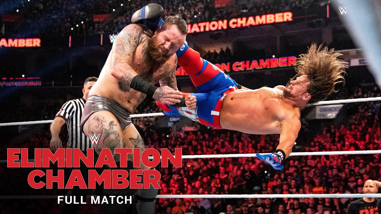 FULL MATCH - Aleister Black vs. AJ Styles – No Disqualification Match: WWE Elimination Chamber 2020