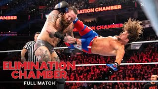 FULL MATCH - Aleister Black vs. AJ Styles - No Disqualification Match: WWE Elimination Chamber 2020