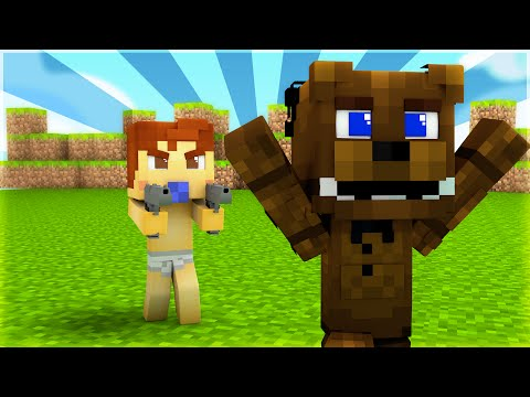 Minecraft - WHO'S YOUR DADDY? - BABY VS FNAF ANIMATRONICS!?