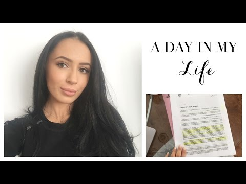 A DAY IN MY LIFE - WORK OUTS &  SCHOOL WORK | Toni Sevdalis