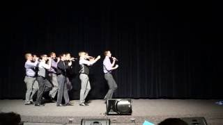 Familiar Ring - Cougar Fight Song (Rise and Shout) - BYU A Cappella Jam, 30 Nov 2016