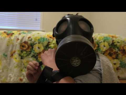 Israeli gas mask review