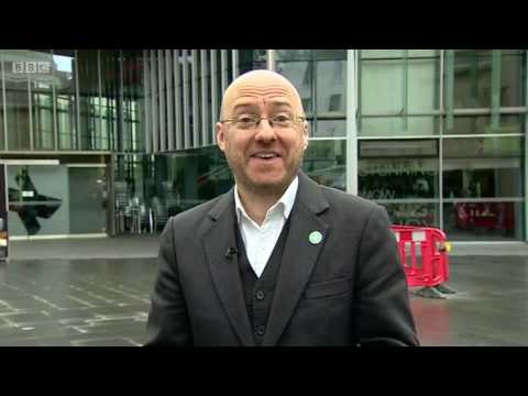 Car Crash - Scottish Greens' Patrick Harvie is left looking like Nicola Sturgeon's sock puppet.