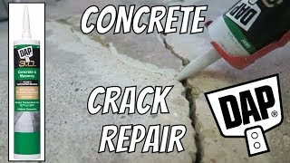 DAP 3.0 Concrete Crack Repair