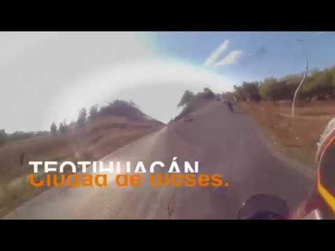De Teotihuacan a Ecatepec en motocicleta