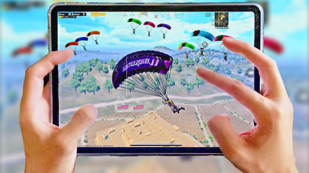 NEW BEST LANDING PLACE!! HANDCAM SOLO VS SQUADS PUBG MOBILE