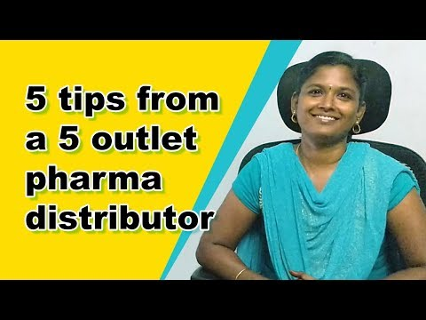 5 tips from a 5 outlet pharma distributor : Saravana Medical Agency, Madurai