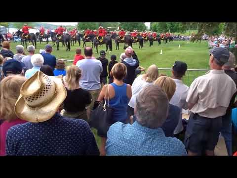 RCMP Musical Ride, May 26, 2018