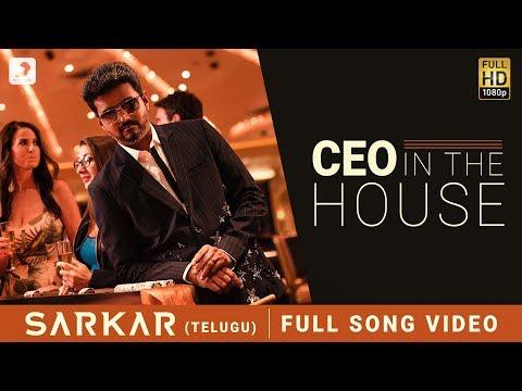 Sarkar Telugu Ceo In The House Video  Thalapathy Vijay  A .r. Rahman