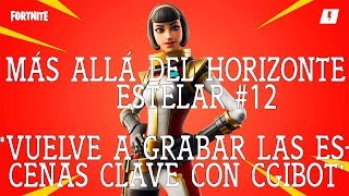 BACK RECORD THE KEY SCENES/BEYOND THE HORIZONTE ESTELAR-12/FORTNITE SAVE THE WORLD