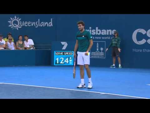 M. Baghdatis v G. Simon - Full Match Men's Singles Quarter Finals: Brisbane International 2013
